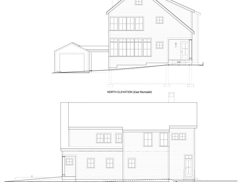 East Ramsdell North_West Elevations